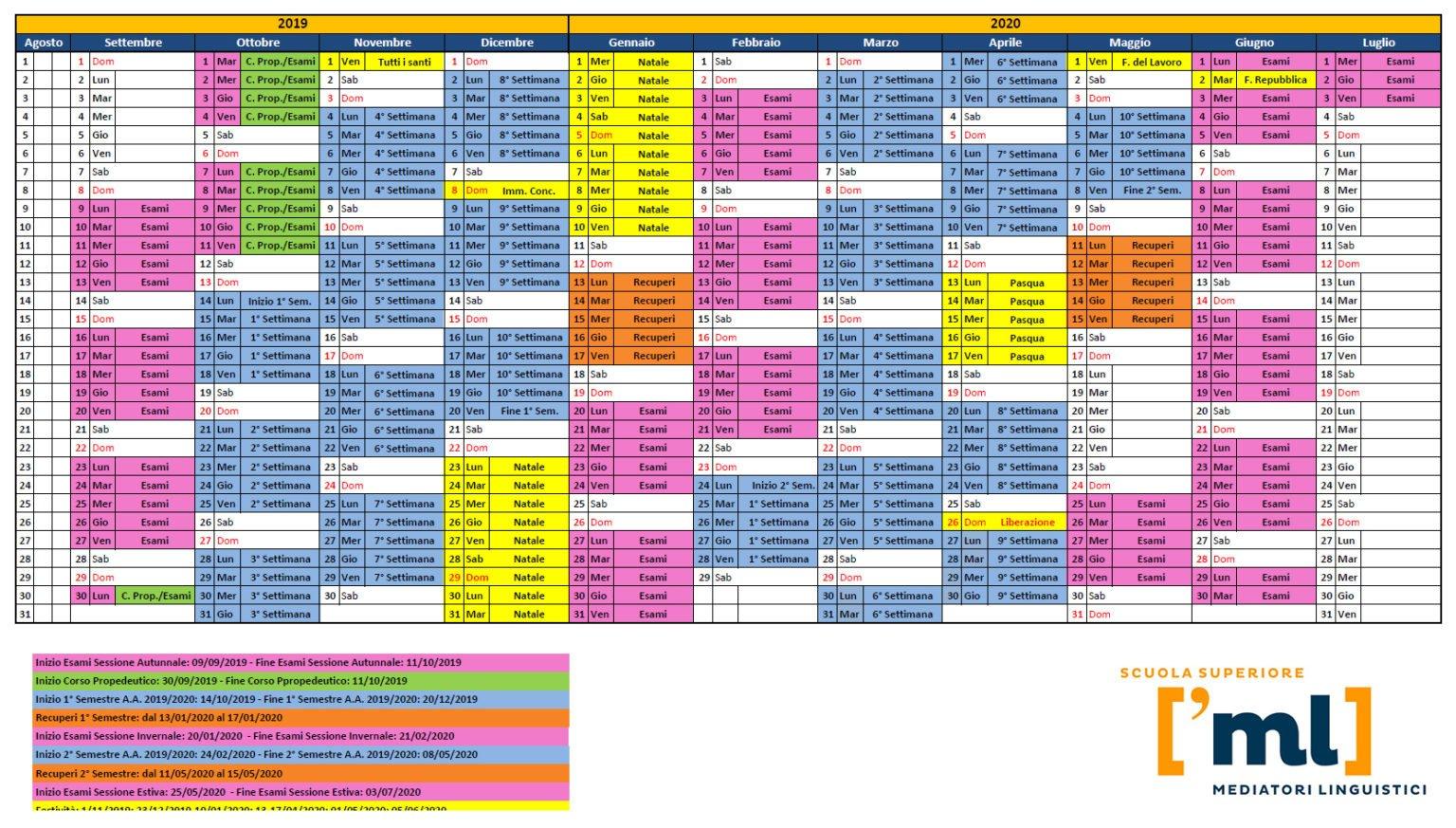 ssml-calendario-accademico-2019-2020